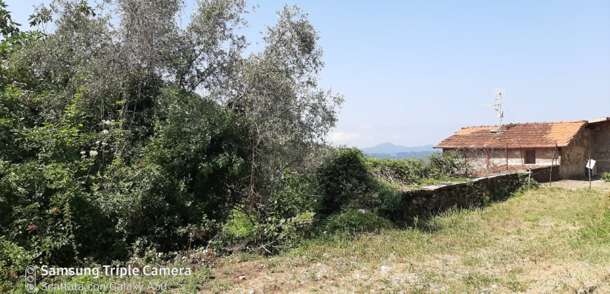 Fantastic Rustic with roof made, with dream like views: The Apuan Alps . 2370